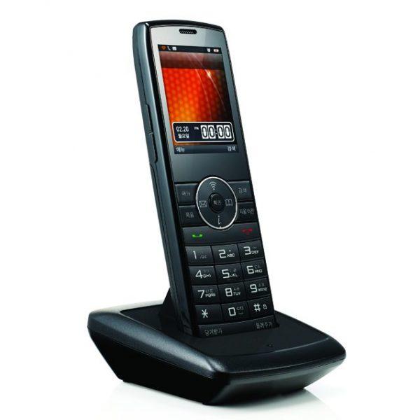 심플한 디자인의 무선 인터넷 전화기