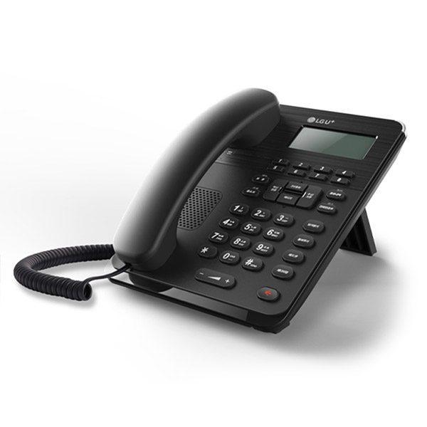 모던한 디자인의 사무용 인터넷 전화기